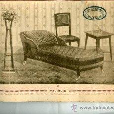 Catálogos publicitarios: CATALOGO MUEBLES EMILIO BONELL VALENCIA 32 X 19 CM , 24 LAMINAS DIVANES SILLONES ..... Lote 30190836