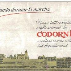 Catálogos publicitarios: CHARLANDO DURANTE LA MARCHA, LIBRO VISITAS A LAS CAVAS CODORNIU. Lote 30211100