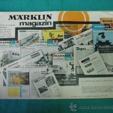 Catálogos publicitarios: CATALOGO TRENES MARKLIN AÑO 1966 EN ALEMAN. Lote 30357284