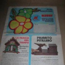 Catálogos publicitarios: CATALOGO DE ARTICULOS POR CORREO DE LA DISTRIBUIDORA NAVER DE BARCELONA. AÑO 1973. - (2º). Lote 30697574