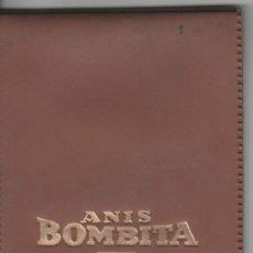 Catálogos publicitarios - Libreta con tapa de piel Publicidad de Anís Bombita - Anís Rute. Años 60 - 31084359