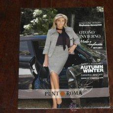 Catálogos publicitarios: CATALOGO PUNTO ROMA OTOÑO INVIERNO 2010-2011. NORMA DUVAL.50 PAG.. Lote 30812142