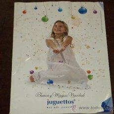 Catálogos publicitarios: CATLOGO JUGGUETTOS. 12 NOVIEMBRE-24 DICIEMBRE 2007. 172 PAG. VER FOTOS.. Lote 30812336