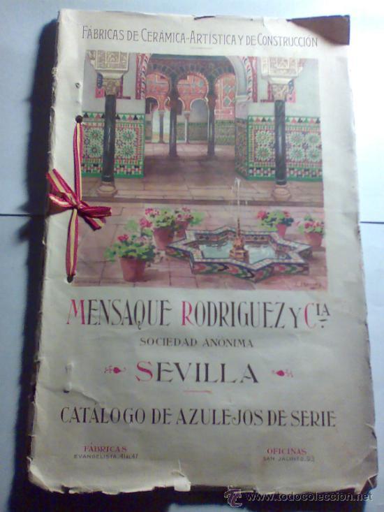 Catalogo De Azulejos Fabrica Mensaque Rodrigue Comprar