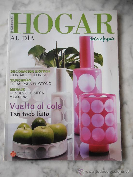 Catalogo Revista Hogar De El Corte Ingles Año Comprar Catálogos