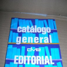 Catálogos publicitarios: CATÁLOGO GENERAL DE LIBROS EDITORIAL DE VECCHI. BALMES 247, BARCELONA. AÑO 1973. VER FOTOS.. Lote 31015478