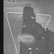 Catálogos publicitarios: DIARIO LUMINOSO CAPITOL, COMPAÑÍA IBÉRICA DE PUBLICIDAD, MADRID, TARIFA PRECIOS,1959, 12X19CM, 4PÁGS. Lote 31066322
