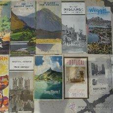 Catálogos publicitarios: 13 CATALOGOS PUBLICITARIOS DE VIAJES POR EUROPA EN INGLES.AÑOS 30. . Lote 31465538