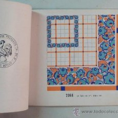 Catálogos publicitarios: SOCIEDAD GENERAL DE HULES / MANTELES CUADRADOS - CATÁLOGO - (1940). Lote 31583918