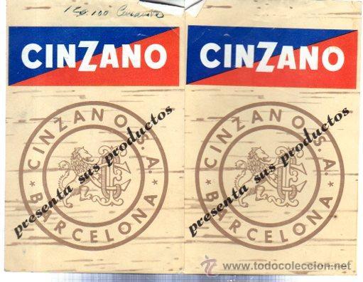CATÁLOGO PUBLICITARIO CINZANO, BARCELONA (Coleccionismo - Catálogos Publicitarios)