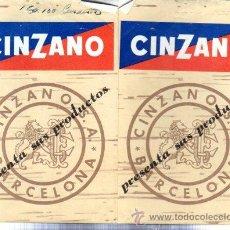Catálogos publicitarios: CATÁLOGO PUBLICITARIO CINZANO, BARCELONA. Lote 31611975