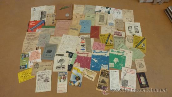 LOTE DE MUCHOS CATALOGOS PUBLICITARIOS DE MAQUINAS... VARIADOS. DE AÑOS 20S Y 30S. CATALANES (Coleccionismo - Catálogos Publicitarios)