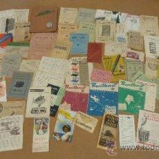 Catálogos publicitarios: LOTE DE MUCHOS CATALOGOS PUBLICITARIOS DE MAQUINAS... VARIADOS. DE AÑOS 20S Y 30S. CATALANES. Lote 31708770