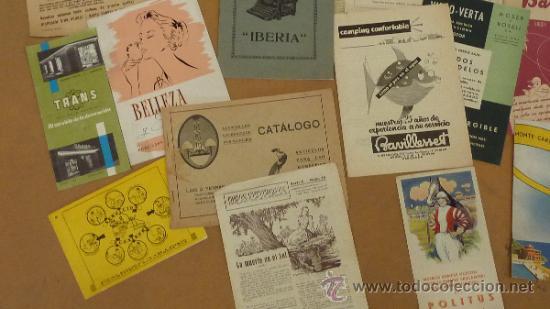 Catálogos publicitarios: lote de muchos catalogos publicitarios de maquinas... variados. De años 20s y 30s. catalanes - Foto 2 - 31708770