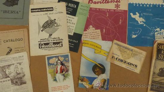 Catálogos publicitarios: lote de muchos catalogos publicitarios de maquinas... variados. De años 20s y 30s. catalanes - Foto 3 - 31708770