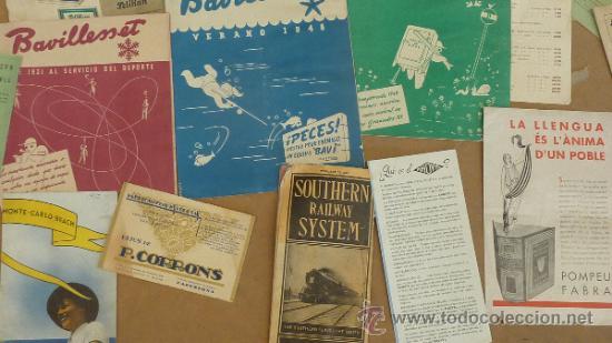 Catálogos publicitarios: lote de muchos catalogos publicitarios de maquinas... variados. De años 20s y 30s. catalanes - Foto 4 - 31708770