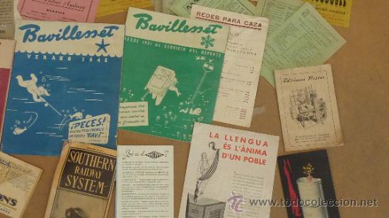 Catálogos publicitarios: lote de muchos catalogos publicitarios de maquinas... variados. De años 20s y 30s. catalanes - Foto 5 - 31708770