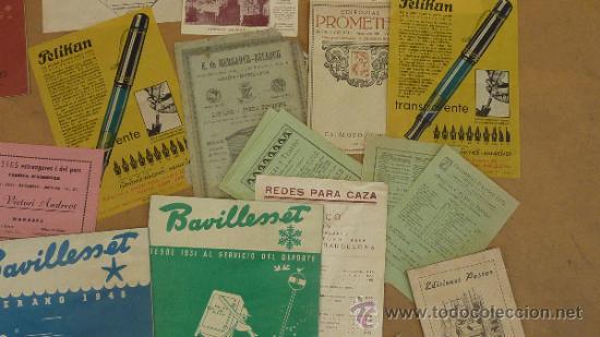 Catálogos publicitarios: lote de muchos catalogos publicitarios de maquinas... variados. De años 20s y 30s. catalanes - Foto 6 - 31708770