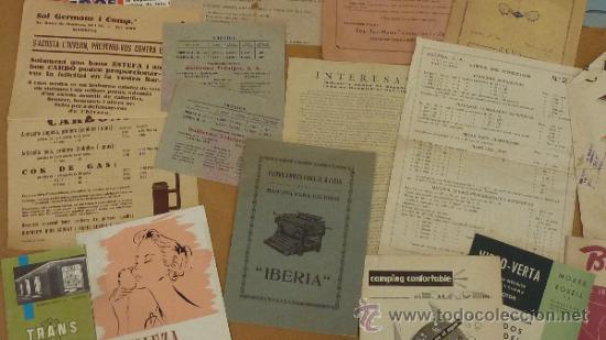 Catálogos publicitarios: lote de muchos catalogos publicitarios de maquinas... variados. De años 20s y 30s. catalanes - Foto 8 - 31708770