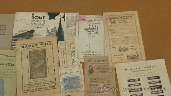 Catálogos publicitarios: lote de muchos catalogos publicitarios de maquinas... variados. De años 20s y 30s. catalanes - Foto 12 - 31708770