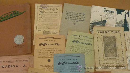 Catálogos publicitarios: lote de muchos catalogos publicitarios de maquinas... variados. De años 20s y 30s. catalanes - Foto 13 - 31708770