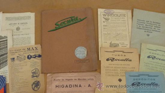 Catálogos publicitarios: lote de muchos catalogos publicitarios de maquinas... variados. De años 20s y 30s. catalanes - Foto 14 - 31708770