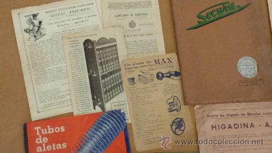 Catálogos publicitarios: lote de muchos catalogos publicitarios de maquinas... variados. De años 20s y 30s. catalanes - Foto 15 - 31708770