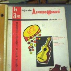 Catálogos publicitarios: CATALOGO FÁBRICA DE JUGUETES, GUITARRAS, PANDERETAS Y CASTAÑUELAS. HIJO DE ALFREDO MOMPÒ. ALACUAS . Lote 31792823