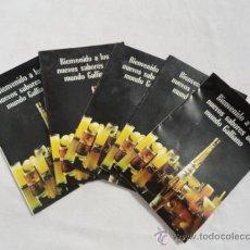 Catálogos publicitarios: CATÁLOGO PUBLICITARIO - LICORES GALLIANO -. AÑOS 70.. Lote 31804762