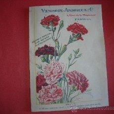 Catálogos publicitarios: VILMORIN-ANDRIEUX Y CIA.-PLANTAS.-JARDINERIA.-FLORES.-AÑO 1929.. Lote 32193959