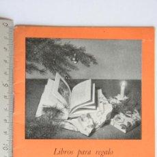 Catálogos publicitarios: CATALOGO DE LIBROS PARA REGALO FOLLETO DE EDITORIAL LABOR, 1952 - 1953.. Lote 32389798