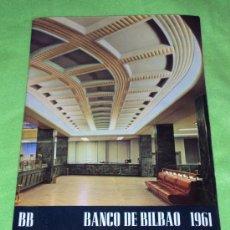 Catálogos publicitarios: CATÁLOGO PUBLICITARIO DEL BANCO DE BILBAO ORGANIGRAMA DE EMPRESA 1961. Lote 32464412