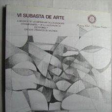 Catálogos publicitarios: SUBASTA DE ARTE. 2001. Lote 32525302