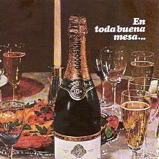 Catálogos publicitarios: PUBLICIDAD ORIGINAL EN PRENSA 1968: CODORNIU - REFª (JC) PUBLI 6. Lote 32512628