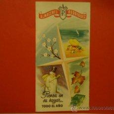 Catálogos publicitarios: ANTIGUO CATALOGO PUBLICITARIO ALMACENES RODRIGUEZ BARCELONA. Lote 32544982