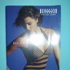 Catálogos publicitarios: CATALOGO MODA. MEDIAS, PANTYS, LENCERIA Y LYCRA. PRIMAVERA VERANO 2002. WOLFORD. WIEN PARIS LONDON. Lote 32618319