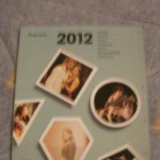 Catálogos publicitarios: PROGRAMACION CULTURAL BADALONA 2012 --REFM3E1. Lote 32772801