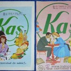 Catálogos publicitarios: KAS - 1962. Lote 32968516