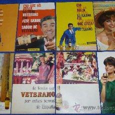 Catálogos publicitarios: VETERANO - OSBORNE - 1965. Lote 32968483