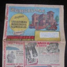 Catálogos publicitarios: LAS ÚLTIMAS NOVEDADES MUNDIALES - DISTRIBUIDORA NAVER 1971. Lote 33102594