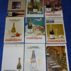 Catálogos publicitarios: CODORNIU - 1962. Lote 32968529