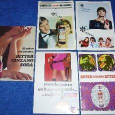 Catálogos publicitarios: CINZANO - 1967. Lote 33034619
