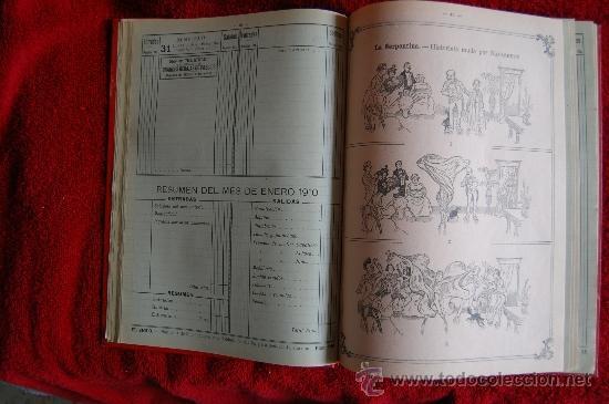 Catálogos publicitarios: DIETARIO GRANDES ALMACENES EL SIGLO - BARCELONA - AÑO 1910 - 284 PÁGINAS + PLANO BARCELONA 89X65 CM. - Foto 4 - 33537645