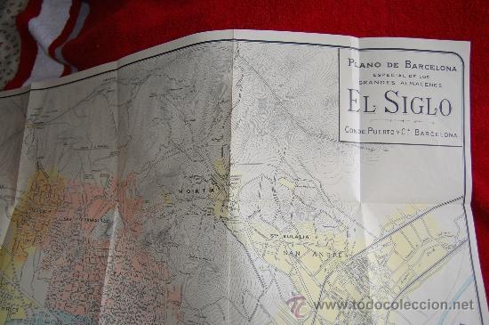 Catálogos publicitarios: DIETARIO GRANDES ALMACENES EL SIGLO - BARCELONA - AÑO 1910 - 284 PÁGINAS + PLANO BARCELONA 89X65 CM. - Foto 7 - 33537645