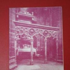 Catálogos publicitarios: FOLLETO DE MANO PROGRAMA DE FIESTAS SEMANA SANTA TORTOSA AÑO 1962. Lote 33734660