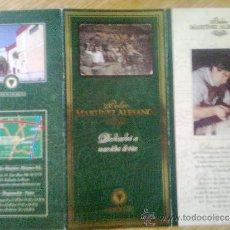 Catálogos publicitarios: FOLLETO VINOS DE RIOJA BODEGAS MARTINEZ ALESANCO. DEDICADOS A NUESTRA TIERRA. VINTAGE 90´S. Lote 33821530