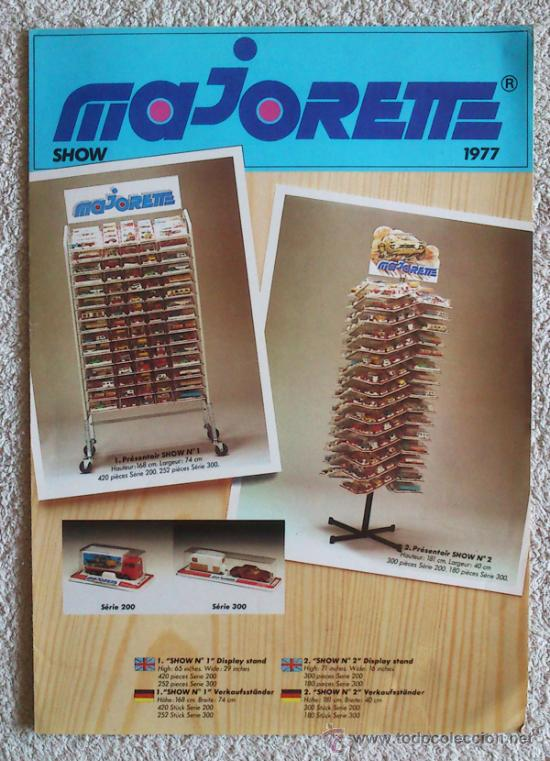 CATALOGO JUGUETES MAJORETTE 1977 (Coleccionismo - Catálogos Publicitarios)