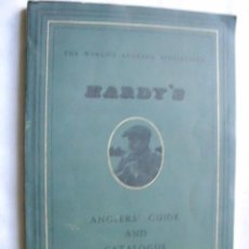 Catalogues publicitaires: THE HOUSE OF HARDY. ANGLERS' GUIDE AND CATALOGUE.. Lote 34096357