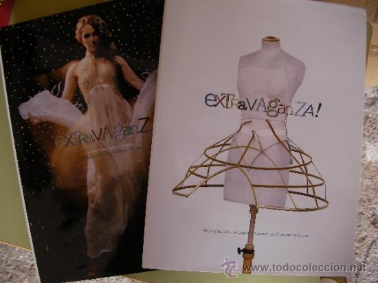 DOS LIBROS CATALOGO DE MODA EXTRAVAGANZA PRIMAVERO VERANO 2008 (Coleccionismo - Catálogos Publicitarios)