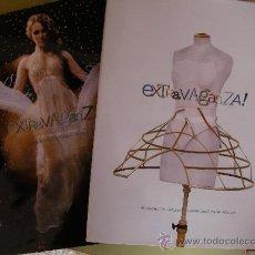 Catálogos publicitarios: DOS LIBROS CATALOGO DE MODA EXTRAVAGANZA PRIMAVERO VERANO 2008. Lote 34109356